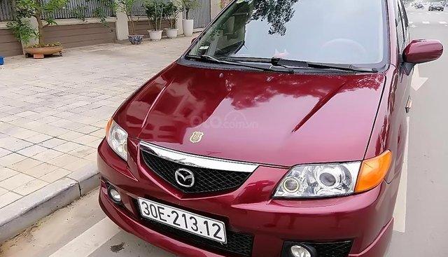 Bán xe Mazda Premacy 1.8 AT đời 2003, màu đỏ, chính chủ
