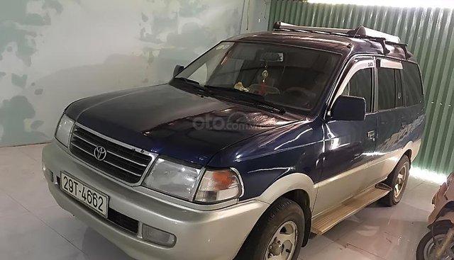 Bán Toyota Zace GL đời 2001, màu xanh lam, xe gia đình