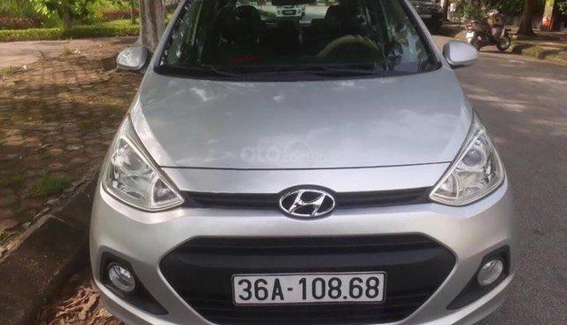 Cần bán Hyundai Grand i10 1.0 MT sản xuất 2014, màu bạc, xe nhập