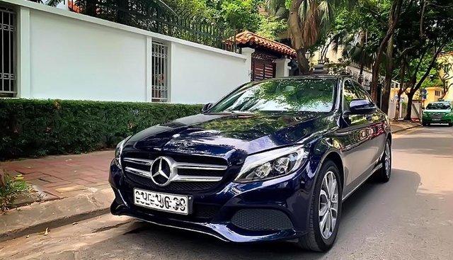 Gia đình bán Mercedes C200 đời 2016, màu xanh lam