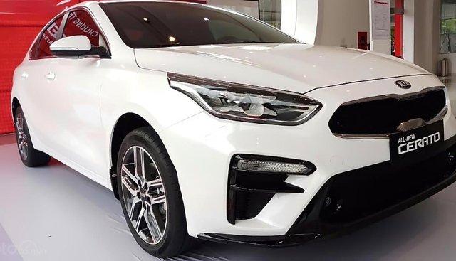 Bán Kia Cerato 1.6 AT Deluxe đời 2019, màu trắng