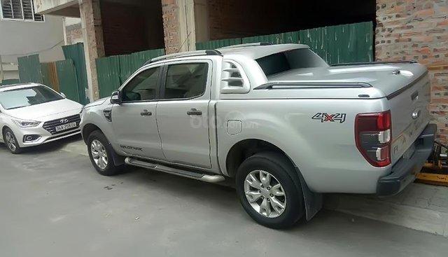 Bán Ford Ranger Wildtrak 3.2 sản xuất năm 2014, màu bạc, nhập khẩu