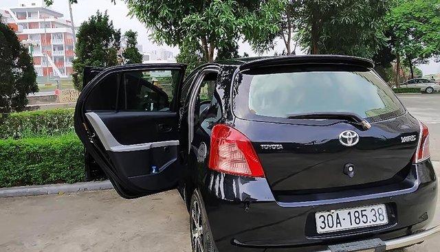 Bán Toyota Yaris năm sản xuất 2008, màu đen, nhập khẩu