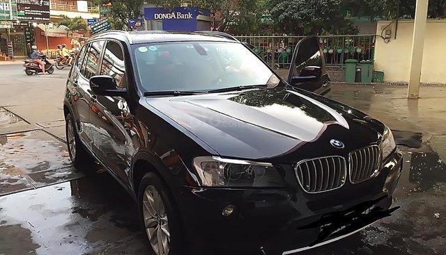 Bán BMW X3 xDrive28i sản xuất 2011, màu đen, nhập khẩu nguyên chiếc