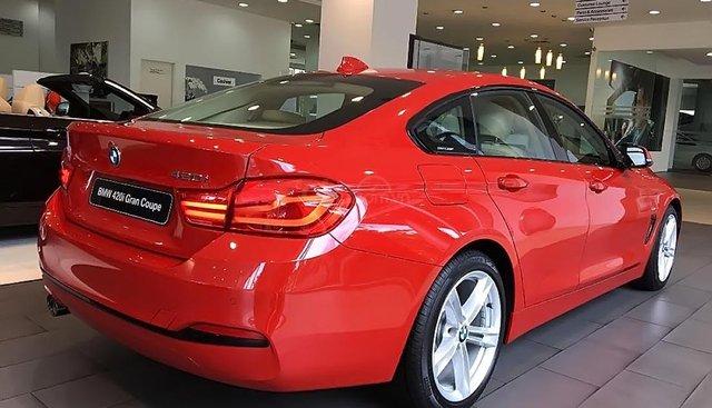 Bán ô tô BMW 4 Series 420i Gran Coupe đời 2019, màu đỏ, nhập khẩu nguyên chiếc