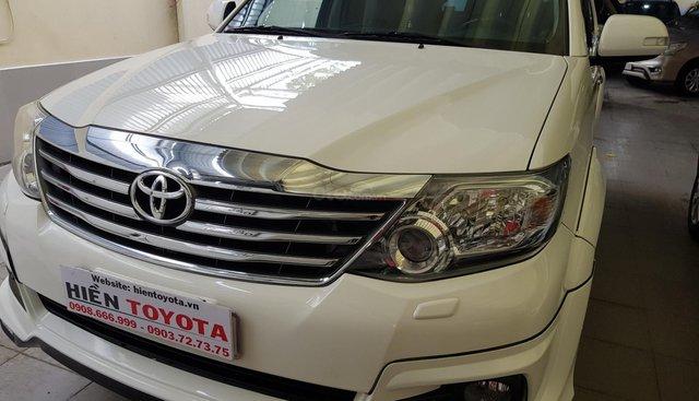 Toyota Fortuner TRD 2.7V (4x4) sản xuất 2016, màu trắng