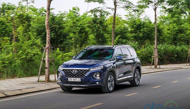 Doanh số bán hàng xe Hyundai Santa Fe tháng 5/2020