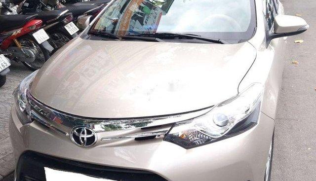 Bán Toyota Vios G đời 2017, đăng kí tháng 9/2017, màu vàng, nhập khẩu