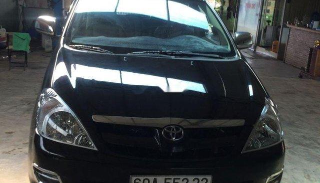 Bán Toyota Innova đời 2006, màu đen, giá 330tr