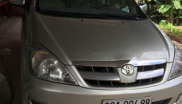 Bán Toyota Innova G 2006, màu bạc, xe gia đình