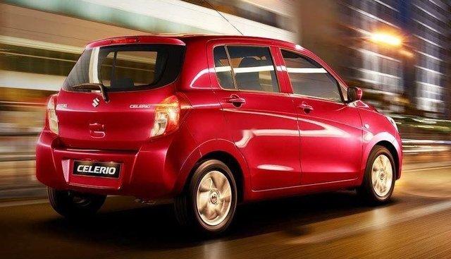 Cần bán Suzuki Celerio đời 2019, màu đỏ, nhập khẩu
