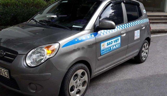 Bán xe Kia Morning sản xuất năm 2012, màu xám