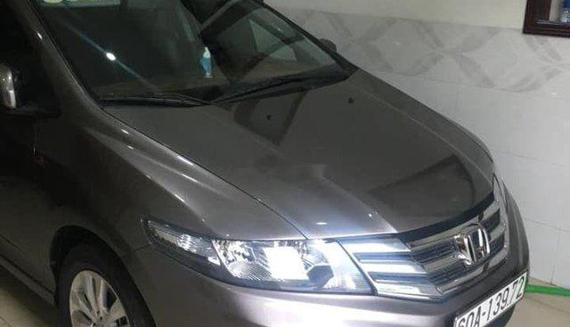 Bán ô tô Honda City đời 2014, màu xám số tự động, giá 470tr