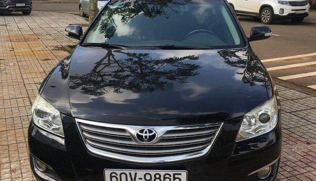 Bán xe Toyota Camry 2.4G đời 2009, màu đen, xe nhập, giá 548tr
