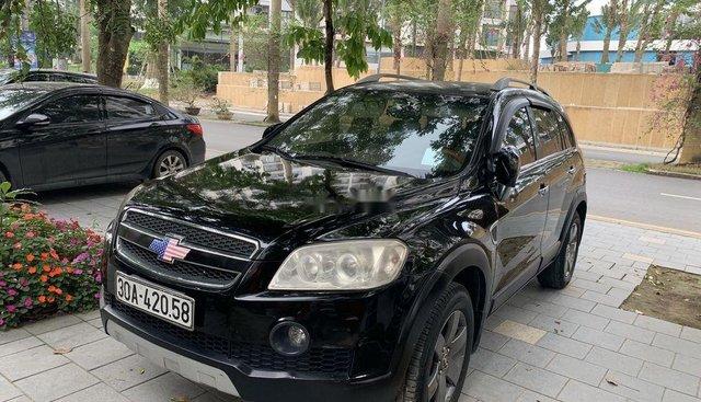 Bán xe Chevrolet Captiva LT sản xuất 2007, màu đen, 265 triệu