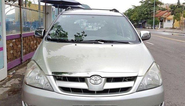 Cần bán Toyota Innova đời 2008, màu bạc, giá 330tr