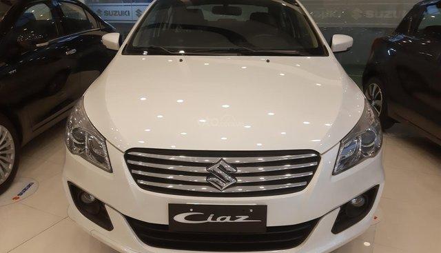 Suzuki Ciaz sx 2019 giảm giá sốc, hỗ trợ vay ngân hàng 490 triệu