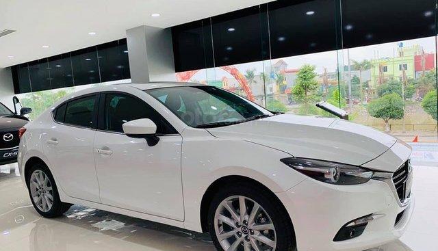 Bán Mazda 3 sản xuất năm 2019, màu trắng giá cạnh tranh, ưu đãi khủng - LH: 0938905707