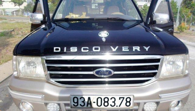 Ford Everest 2.5L 4x4 MT, phiên bản 2 cầu, 4 ABS, máy dầu turbo, màu đen vip, xe mới như trong hãng