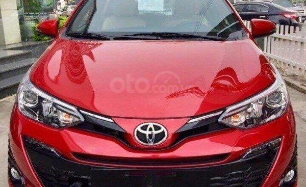 Cần bán xe Toyota Yaris G đời 2019, màu đỏ, nhập khẩu nguyên chiếc