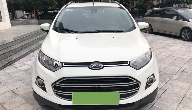 Bán xe Ford EcoSport Titanium 1.5P AT đời 2017, màu trắng