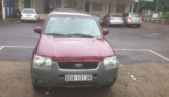 Bán Ford Escape 2003, màu đỏ, nhập khẩu