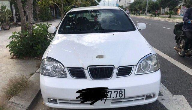 Bán Daewoo Lacetti đời 2005, màu trắng, nhập khẩu
