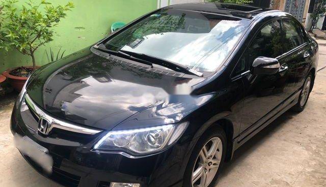 Bán xe Honda Civic 2.0AT 2008, màu đen, xe gia đình