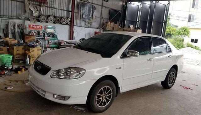Cần bán lại xe Toyota Corolla Altis sản xuất năm 2002, màu trắng, nhập khẩu