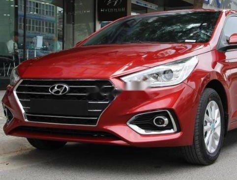 Bán xe Hyundai Accent năm sản xuất 2019, màu đỏ