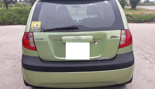 Bán Hyundai Getz 1.1 MT năm sản xuất 2009, màu xanh lục, xe nhập