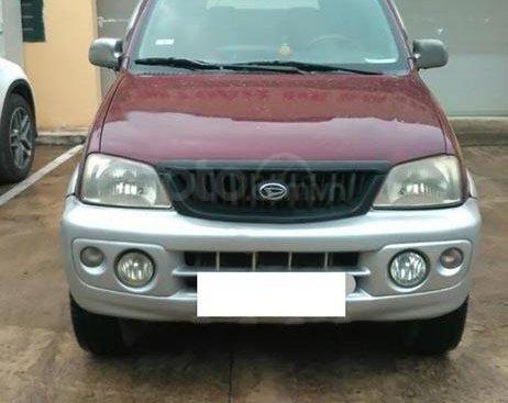 Bán xe cũ Daihatsu Terios 2003, màu đỏ