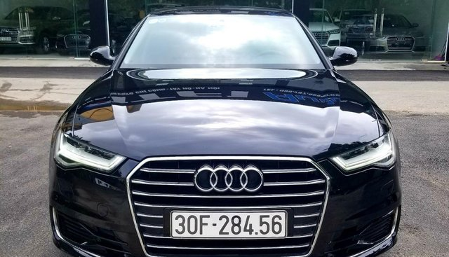 Bán Audi A6 1.8 TFSI đời 2016, màu đen, xe nhập