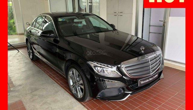Bán xe Mercedes C250 màu đen nội thất đen, đăng kí 2019 mới chính