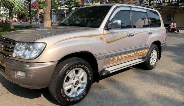 Bán Toyota Land Cruiser bạc 2006, số sàn, full option zin nguyên thủy