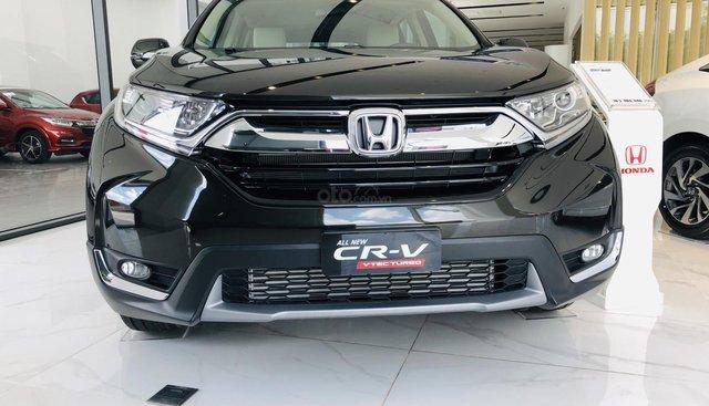 Bán Honda CRV 2019, xe mới giao ngay, trả trước 212tr góp 15tr/tháng, giảm giá mạnh tháng 8