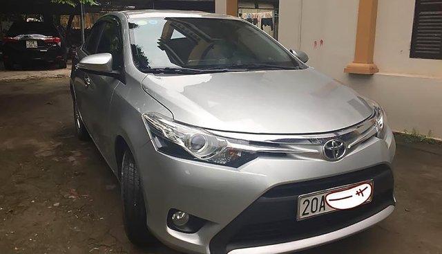 Bán xe Toyota Vios G sản xuất 2016, màu bạc số tự động, 486 triệu