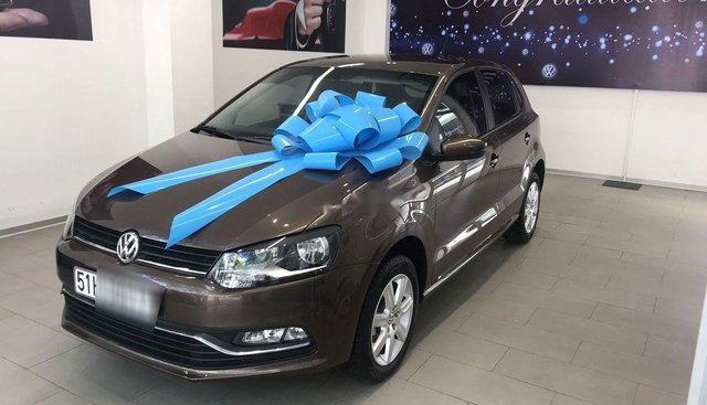 Bán Volkswagen Polo đời 2017, màu nâu, nhập khẩu, số tự động
