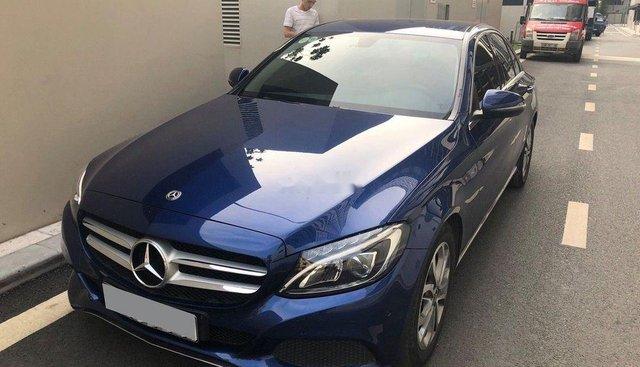 Bán Mercedes C200 đời 2017, màu xanh lam