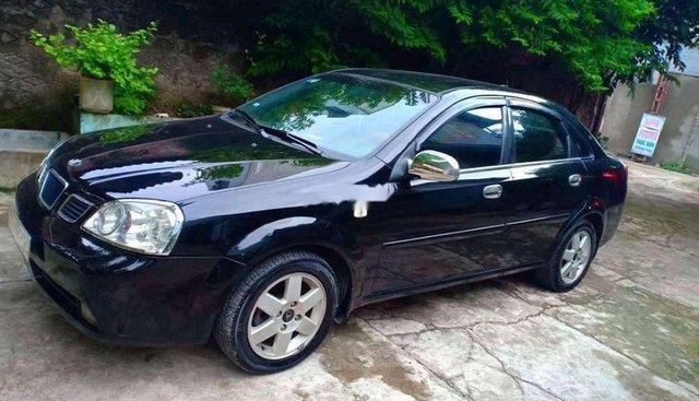 Cần bán Daewoo Lacetti sản xuất năm 2009, màu đen, nhập khẩu