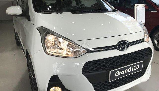 Bán xe Hyundai Grand i10 1.2 AT đời 2019, màu trắng