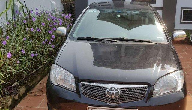 Bán ô tô cũ Toyota Vios năm sản xuất 2007, màu đen