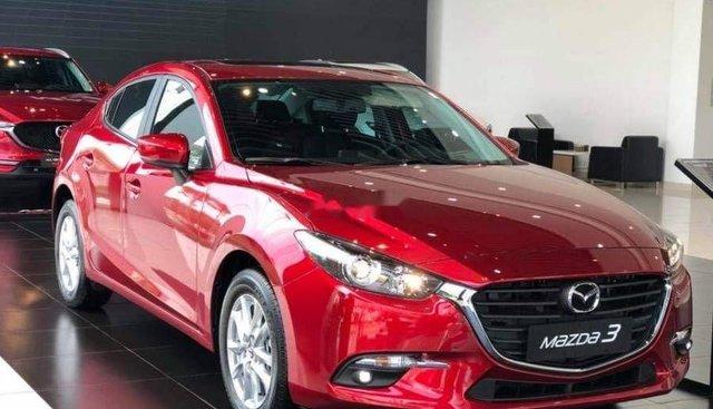 Bán Mazda 3 đời 2019, màu đỏ, 669 triệu