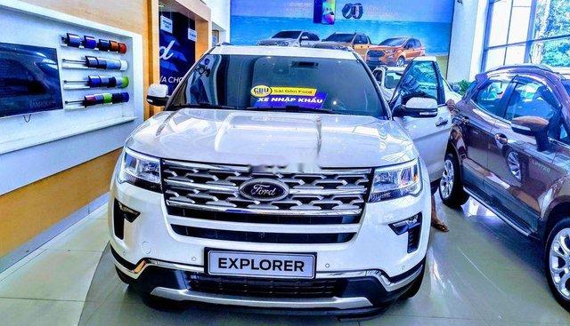 Bán xe Ford Explorer đời 2019, màu trắng, nhập khẩu