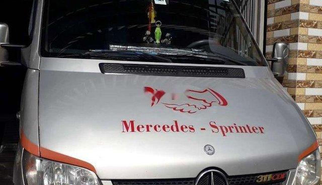 Bán xe Mercedes Sprinter 2009, màu bạc, nhập khẩu