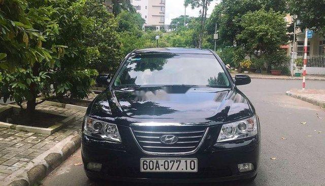 Bán Hyundai Sonata 2009, màu đen, nhập khẩu số sàn