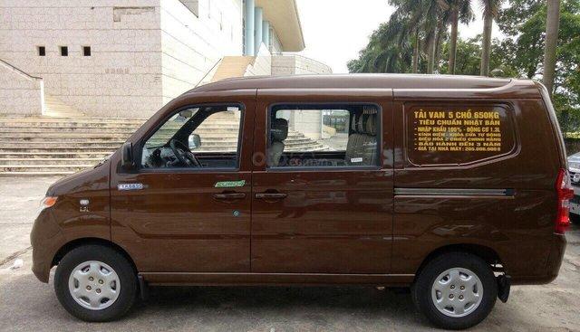 Bán xe Kenbo 5 chỗ tải Van tại Bắc Giang, giá 228 triệu đời 2019, tiêu chuẩn Nhật Bản
