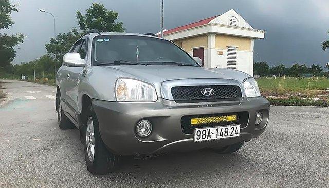 Bán Hyundai Santa Fe gold sản xuất năm 2005, màu bạc, nhập khẩu, đăng ký lần đầu 2008