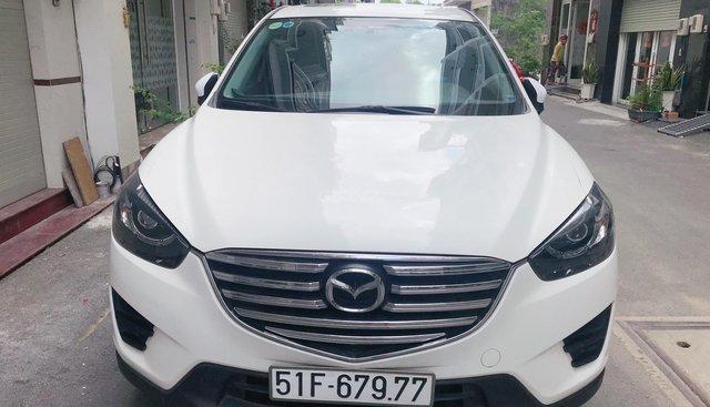 Bán Mazda CX5 2016 màu trắng, đẹp long lanh, xe gia đình nữ đi