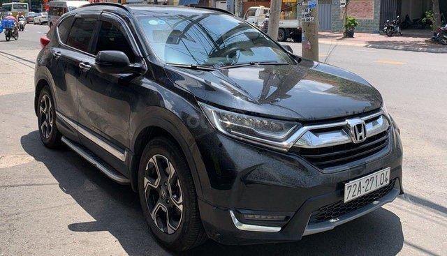 Bán ô tô Honda CR V 1.5L Tubor đời 2018, màu đen